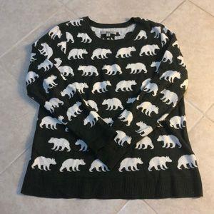 🍎Bass Polar Bear Sweater, XS
